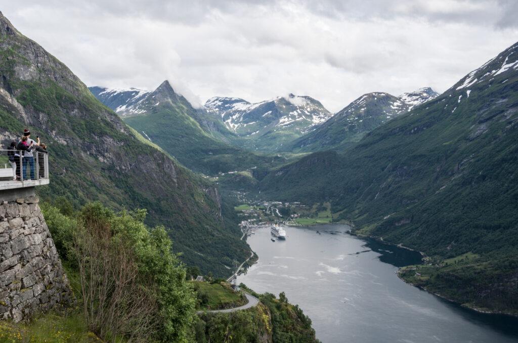 Vestnorsk fjordlandskap